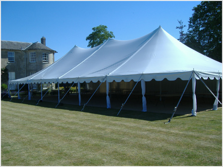 Manufacturer of Peg and Pole Tents for Sale